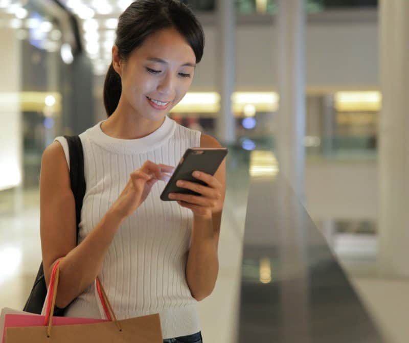 Ensure mobile shopping